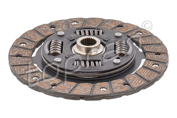 Clutch disc 108 462 TOPRAN — only new parts