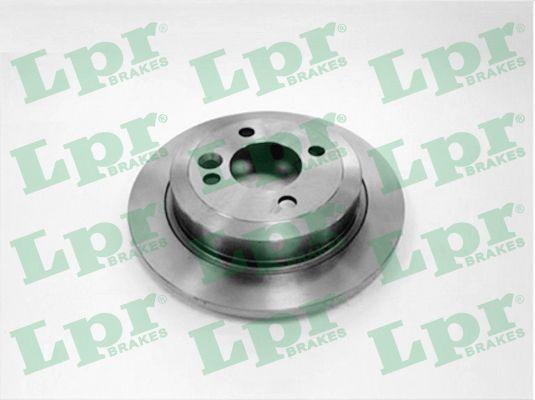 LPR Brake Disc B2009P