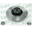 Bremsscheibe LPR R1033PCA Bewertungen