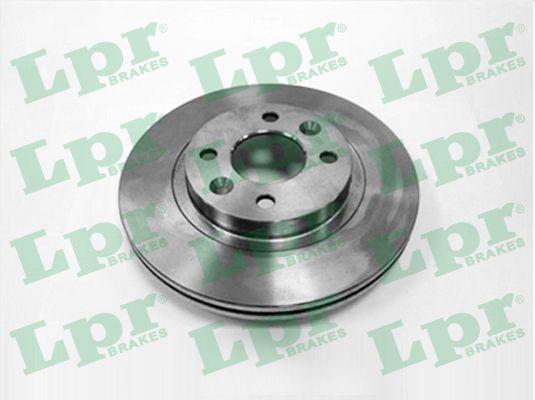 R1301V LPR Innenbelüftet Ø: 259mm, Felge: 4-loch, Bremsscheibendicke: 20,6mm Bremsscheibe R1301V günstig kaufen