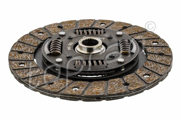 Clutch plate 108 514 TOPRAN — only new parts