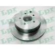 Nissan QASHQAI LPR Bremsscheiben N2015V
