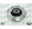 LPR Brake Disc C1005PCA