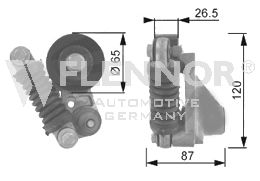 Original HONDA Spannrolle Keilrippenriemen FA22926