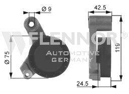Original BMW Spannrolle FS99181