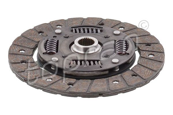 Clutch plate 109 257 TOPRAN — only new parts