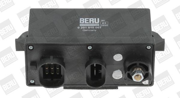 0201010067 BERU Zylinderanzahl: 4 Spannung: 12V Steuergerät, Glühzeit GR067 günstig kaufen