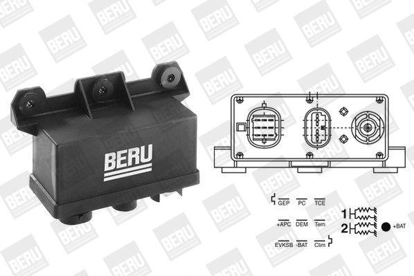 GR067 Steuergerät, Glühzeit BERU - Markenprodukte billig