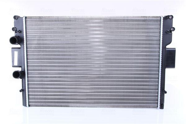 61987 NISSENS ohne Rahmen, Kühlrippen mechanisch gefügt, Aluminium Kühler, Motorkühlung 61987 günstig kaufen