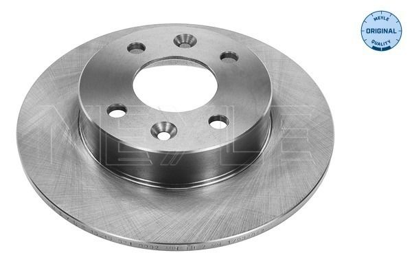 MBD0316 MEYLE ORIGINAL Quality, Vorderachse, Voll Ø: 238mm, Lochanzahl: 4, Bremsscheibendicke: 8,2mm Bremsscheibe 16-15 521 0002 günstig kaufen