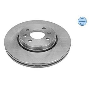 MBD0318 MEYLE MEYLE-ORIGINAL Quality, Vorderachse, belüftet Ø: 280mm, Lochanzahl: 4, Bremsscheibendicke: 24mm Bremsscheibe 16-15 521 0004 günstig kaufen