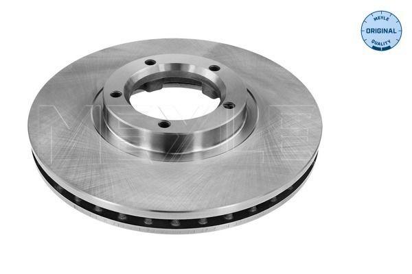 Купете MBD1368 MEYLE ORIGINAL Quality, предна ос, вентилиран Ø: 254мм, брой на дупките: 5, дебелина на спирачния диск: 24,2мм Спирачен диск 715 521 7016 евтино
