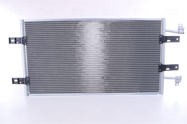 RENAULT TRAFIC 2017 Klimakühler - Original NISSENS 940119 Netzmaße: 730 x 367 x 16 mm