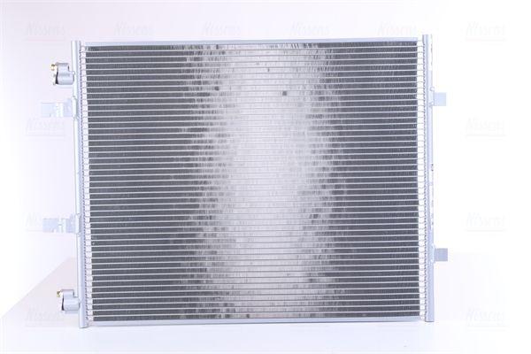 RENAULT TRAFIC 2015 Kondensator Klimaanlage - Original NISSENS 940201 Netzmaße: 578 x 467 x 12 mm