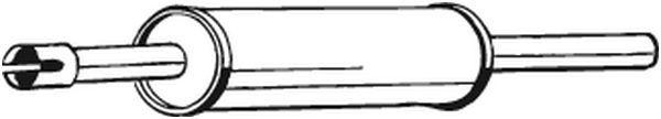BOSAL: Original Vorschalldämpfer 233-309 ()