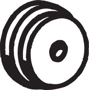 Gummistreifen, Abgasanlage Opel Corsa C 2002 - BOSAL 255-967 ()