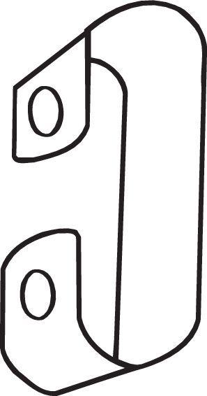 Original MINI Halterung Auspuff 251-235