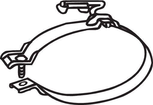 Original MINI Halter, Abgasanlage 251-916