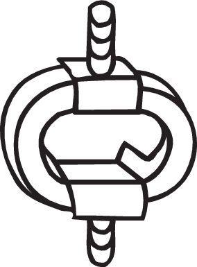 Gummistreifen, Abgasanlage BOSAL 255-008