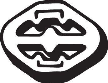 BMW X3 Gummistreifen, Abgasanlage - Original BOSAL 255-071