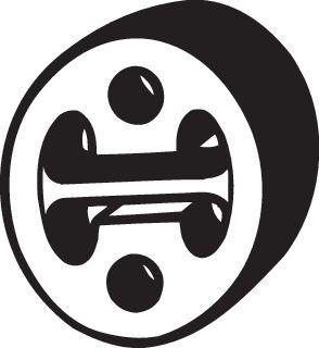 255-145 Gummistreifen, Abgasanlage BOSAL - Markenprodukte billig