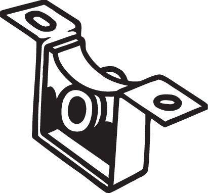 Gummistreifen, Abgasanlage BOSAL 255-180