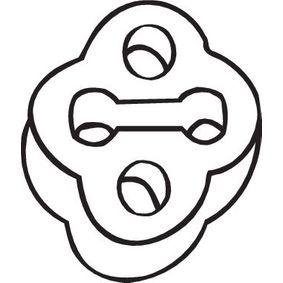 255-507 BOSAL Gummistreifen, Abgasanlage 255-507 günstig kaufen