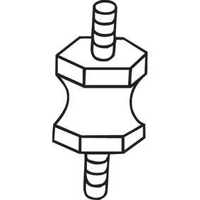 Bosal 255-623 Anschlagpuffer Schalld/ämpfer
