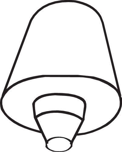 VW GOLF 2014 Gummistreifen, Abgasanlage - Original BOSAL 255-808