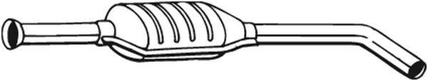 BOSAL: Original Mittelschalldämpfer 200-305 ()