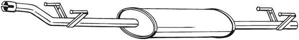 Original MERCEDES-BENZ MSD Attrappe 288-231