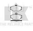 Bremsbeläge 223929 Clio II Schrägheck (BB, CB) 1.0 71 PS Premium Autoteile-Angebot