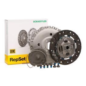 Купете LuK RepSet с предпазен пръстен, с изключващ диск, с комплект предпазни винтове Ø: 210мм Комплект съединител 621 3014 09 евтино