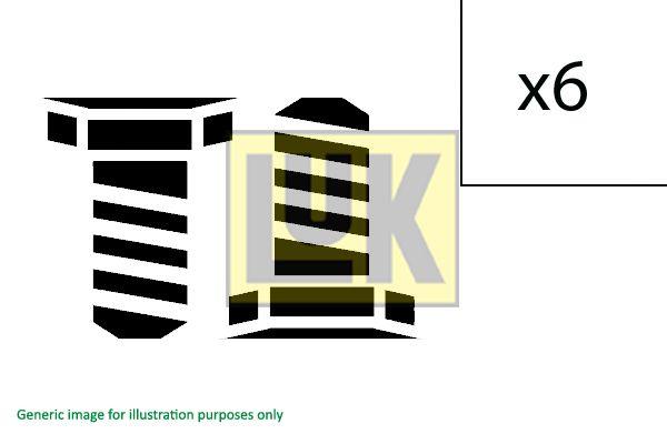 411 0166 10 Kit bulloni, Volano LuK prodotti di marca a buon mercato