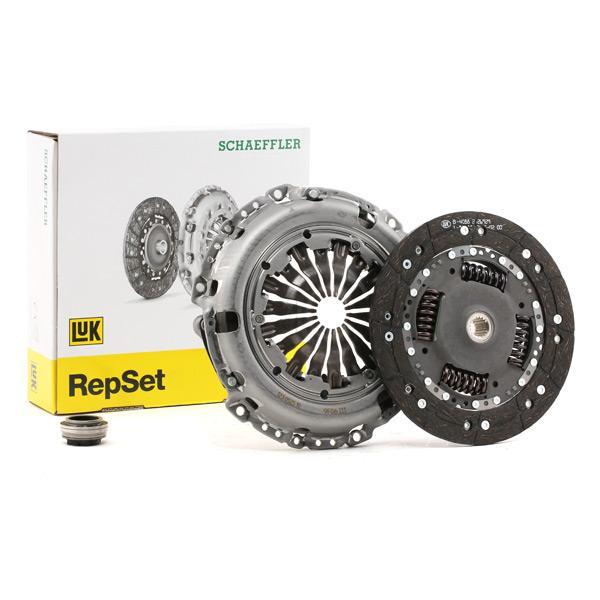 Pieces detachees PEUGEOT 207 2012 : Kit d'embrayage LuK 623 3325 00 Ø: 230mm - Achetez tout de suite!
