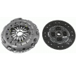 Clutch kit 624 3241 09 with an exceptional LuK price-performance ratio