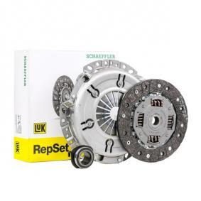 620 1080 00 LuK RepSet mit Ausrücklager, mit Kupplungsscheibe Ø: 200mm Kupplungssatz 620 1080 00 günstig kaufen