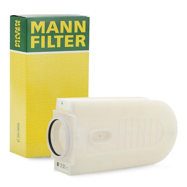 Въздушен филтър C 35 005 с добро MANN-FILTER съотношение цена-качество