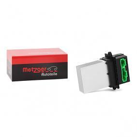 0917001 METZGER Steuergerät, Heizung / Lüftung 0917001 günstig kaufen