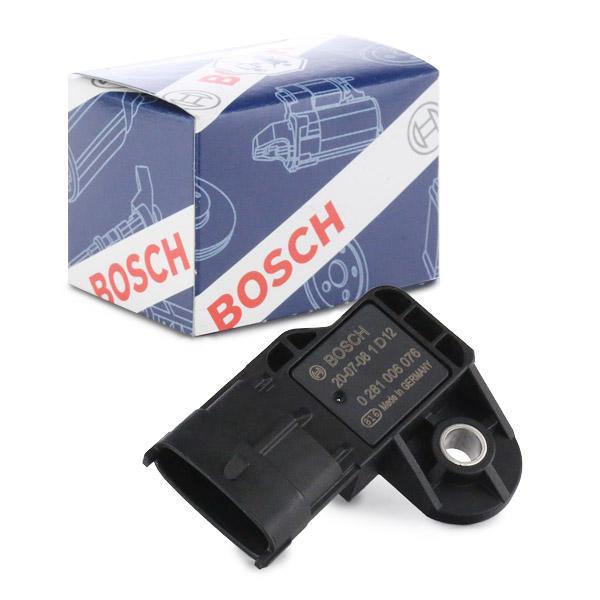 BOSCH | Sensore, Pressione alimentazione 0 281 006 076