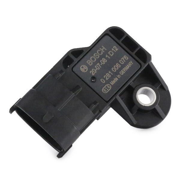0 281 006 076 Sensore, Pressione alimentazione BOSCH Test