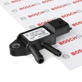 DSD2 BOSCH Temperaturbereich von: -40°C, Temperaturbereich bis: 130°C Sensor, Abgasdruck 0 281 002 772 günstig kaufen
