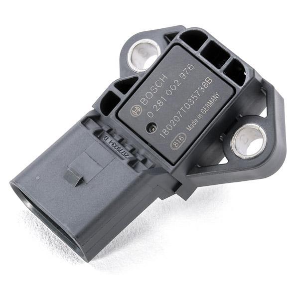 BOSCH   Sensor, Ladedruck 0 281 002 976