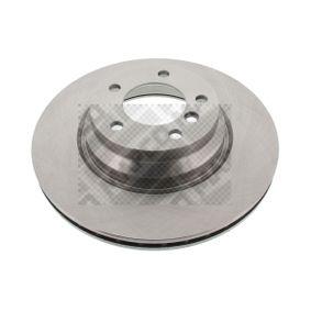 stabdžių diskas 25762 su puikiu MAPCO kainos/kokybės santykiu