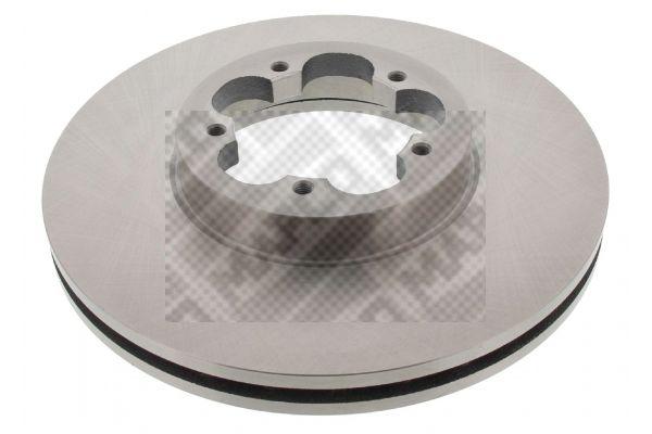Купете 25823 MAPCO предна ос, вентилиран Ø: 300мм, брой на дупките: 5, дебелина на спирачния диск: 28мм Спирачен диск 25823 евтино