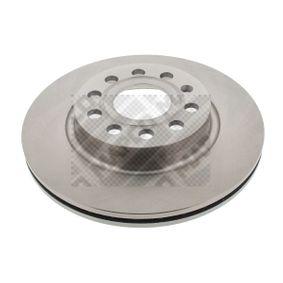 25832 MAPCO Eje delantero, ventilado Ø: 280mm, Núm. orificios: 5, Espesor disco freno: 22mm Disco de freno 25832 a buen precio