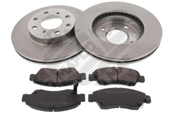 Buy original Brake pads and rotors kit MAPCO 47521