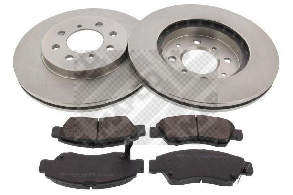 Buy original Brake shoes and rotors MAPCO 47522