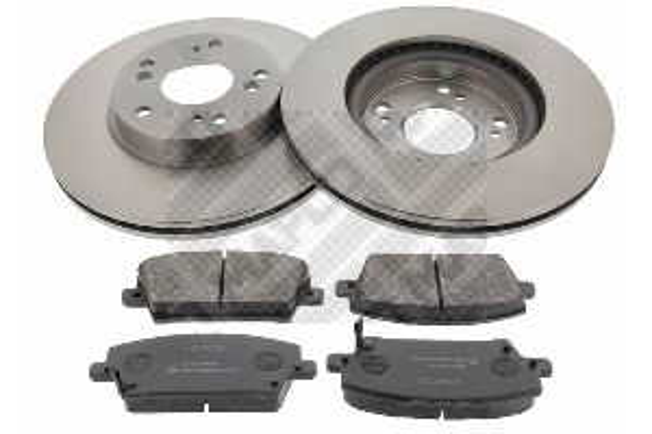 Buy original Brake rotors and pads kit MAPCO 47523