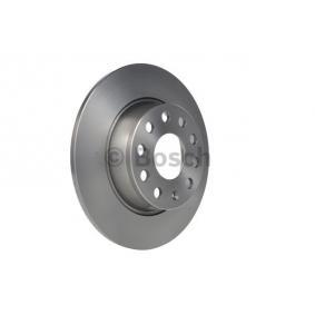 E190R02C03550231 BOSCH Voll, geölt Ø: 272mm, Lochanzahl: 9, Bremsscheibendicke: 10mm Bremsscheibe 0 986 479 677 günstig kaufen